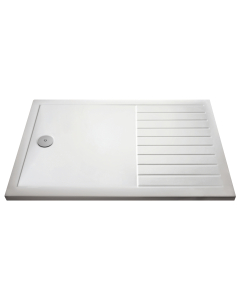 Nuie Shower Trays White Contemporary Rectangular Walk-In Tray 1400 x 900 - NTP1490 NTP1490