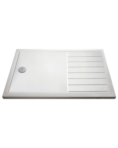 Nuie Shower Trays White Contemporary Rectangular Walk-In Tray 1700 x 700 - NTP1770 NTP1770