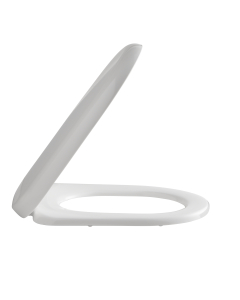 Nuie White Contemporary Luxury Soft Close Toilet Seat - NTS004 NTS004