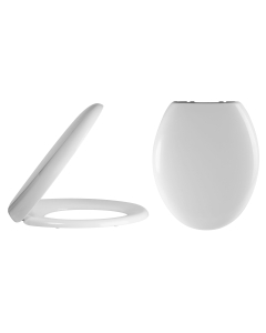 Nuie White Contemporary Standard Soft Close Toilet Seat - NTS901 NTS901