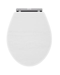 Nuie York White Ash Traditional Toilet Seat - OLF199 OLF199