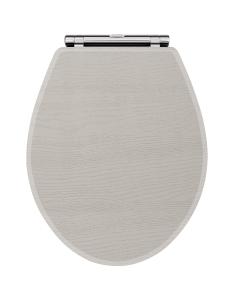 Nuie York Stone Grey Traditional Toilet Seat - OLF299 OLF299