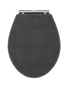 Nuie York Royal Grey Traditional Toilet Seat - OLF499 OLF499