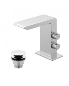 Vado Omika Mono Basin Mixer With Universal Waste - Omi-100/Cc-C/P VADO1646