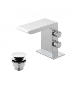 Vado Omika Mini Mono Basin Mixer With Universal Waste - Omi-100M/Cc-C/P VADO1648