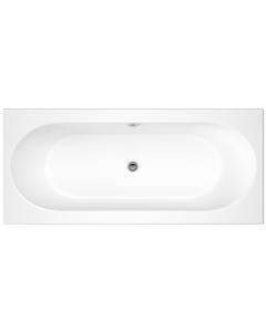 Nuie Otley White Contemporary Round Double Ended Bath 1700x750 - NBA510 NBA510