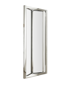 Nuie Pacific Bi-Fold Door Polished Chrome Contemporary 800mm - AQBD8 AQBD8