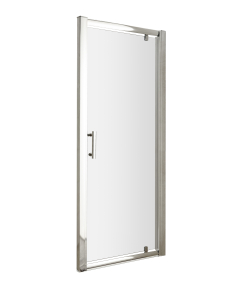 Nuie Pacific Pivot Door Polished Chrome Contemporary 700mm - AQPD70 AQPD70