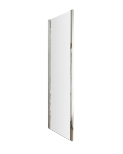 Nuie Pacific Side Panels Polished Chrome Contemporary 700mm Panel - AQFSP70 AQFSP70