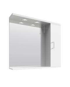 Nuie Mayford White Contemporary Mirror - PRC115 PRC115