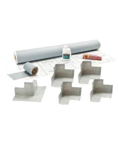 Impey WaterGuard Waterproof Membrane Kit, Pre-Made Corners, 10sqm - WG10 WG10