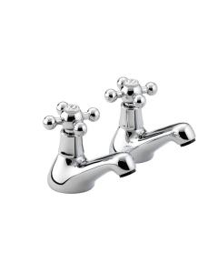 Bristan Regency Bath Taps Chrome - R 3/4 C R 3/4 C