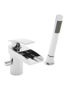 Nuie Rhyme Chrome Contemporary Bath Shower Mixer - RHY304 RHY304