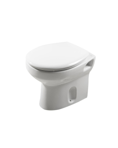 Roca Laura Back to Wall Toilet, 495mm Projection, Soft Close Seat RO10183