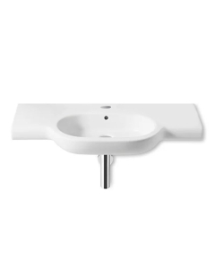 Roca Meridian-N Wall Hung Basin, 850mm Wide, 1 Tap Hole - 32724D000 RO10128