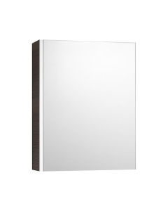 Roca Mini Mirrored Cabinet 450mm Wide - Textured Wenge - 856692154 RO10443