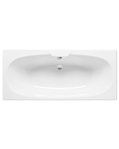 Roca Sitges Double Ended Acrylic Bath with Feet 1700mm x 750mm 0 Tap Hole - 023200000 RO10473