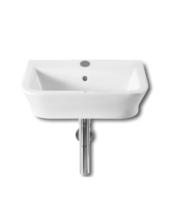 Roca The Gap Wall Hung Basin, 550mm Wide, 1 Tap Hole - 327475000 RO10004