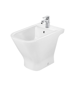 Roca The Gap Bidet with Standard Seat 560mm Projection - 1 Tap hole RO10031