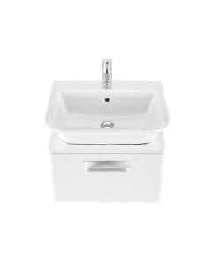 Roca The Gap 1-Drawer Bathroom Vanity Unit with Basin 550mm W - Gloss White RO10376