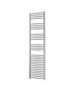 Radox Premier Curved Heated Towel Rail 1500mm H x 600mm W - White RXPC-1500600-WH