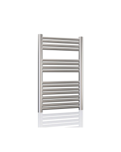 Radox Premier XL Straight Heated Towel Rail 800mm H x 400mm W -Stainless Steel RXPS-0800400-SS