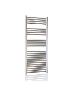 Radox Premier XL Straight Heated Towel Rail 1200mm H x 400mm W -Stainless Steel RXPS-1200400-SS