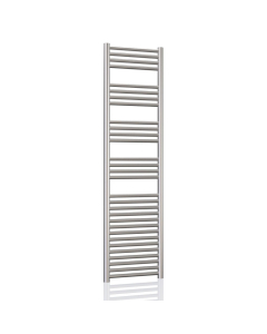Radox Premier XL Slimline Straight Heated Towel Rail 1500mm H x 300mm W -Stainless Steel RXPS-1500300-SS