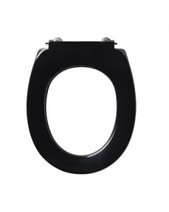 Armitage Shanks Contour 21 Toilet Seat only for 305mm High Pan in Black - S405766 S405766