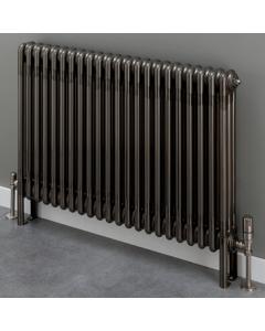 Supplies4Heat Cornel 4 Column Horizontal Radiator 600mm Height x 609mm Width - 13 Sections -Lacquer - CORN4C606013HL CORN4C606013HL