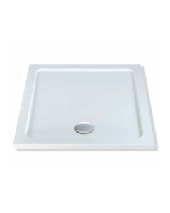 MX Elements Flat Top Square Shower Tray 800mm - DAD DAD