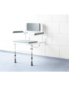 Impey Deluxe Padded Fold Down Shower Seat - S1/P IM1034