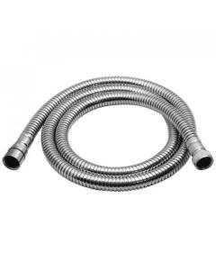 Vado Shower Hose Brass Large Bore 150Cm Chrome Plated - Sh-013-150-Db-Cp-Lb VADO1361