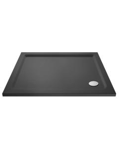 Nuie Slate Grey Trays Contemporary Rectangular Shower Tray 1100x800mm - TR71018 TR71018
