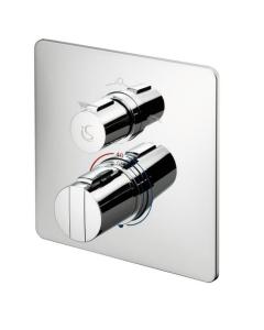 Ideal Standard Concept Easybox Slim Built In Wall Bath Shower Mixer Tap - A5880Aa A5880AA