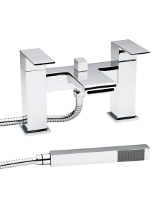 Nuie Strike Chrome Contemporary Bath Shower Mixer - STR314 STR314