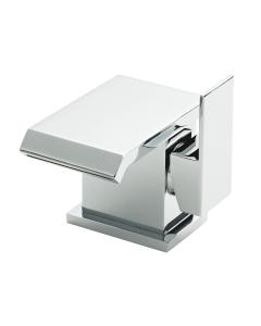 Nuie Bloc Chrome Contemporary Mono Basin Mixer - TMI305 TMI305