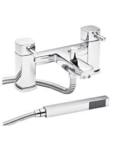 Nuie Munro Chrome Contemporary Bath Shower Mixer - TMU304 TMU304