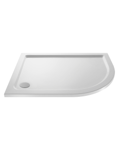 Nuie Shower Trays White Contemporary Offset Quadrant Tray 900x760mm Right Hand - NTP102 NTP102