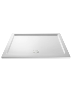 Nuie Shower Trays White Contemporary Rectangular Tray 1300x800mm - NTP028 NTP028