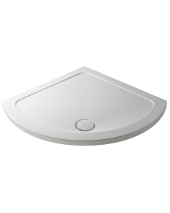Nuie White Contemporary Quadrant Shower Tray 860x860mm - NTP090 NTP090