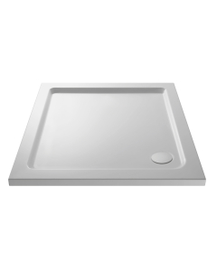 Nuie Shower Trays White Contemporary Square Tray 900x900mm - NTP010 NTP010