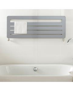 TRC BDO Athena Heated Towel Rail 455mm H x 1000mm W - White ATHEBDO4510W