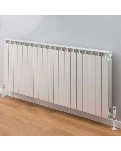 TRC Mix Radiator 390mm High x 1540mm Wide, 19 Sections, White MIX39W-19