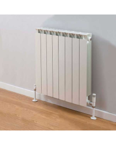 TRC Mix Radiator 390mm High x 660mm Wide, 8 Sections, White MIX39W-8