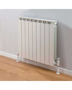 TRC Mix Radiator 390mm High x 740mm Wide, 9 Sections, White MIX39W-9