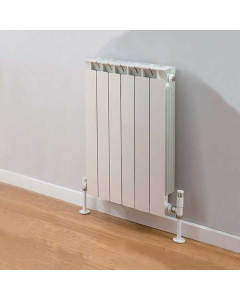 TRC Mix Radiator 440mm High x 500mm Wide, 6 Sections, White MIX44W-6