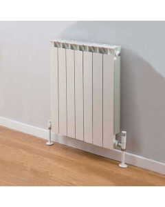 TRC Mix Radiator 440mm High x 580mm Wide, 7 Sections, White MIX44W-7