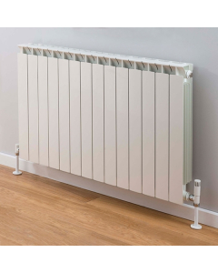 TRC Mix Radiator 590mm High x 1140mm Wide, 14 Sections, White MIX59W-14