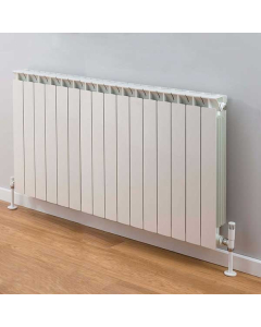 TRC Mix Radiator 590mm High x 1300mm Wide, 16 Sections, White MIX59W-16